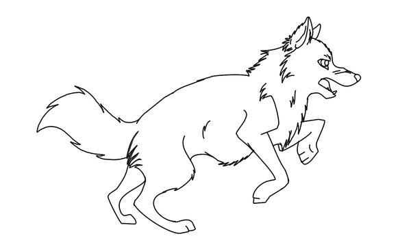 kleurplaat-wolf-bewegende-animatie-0001
