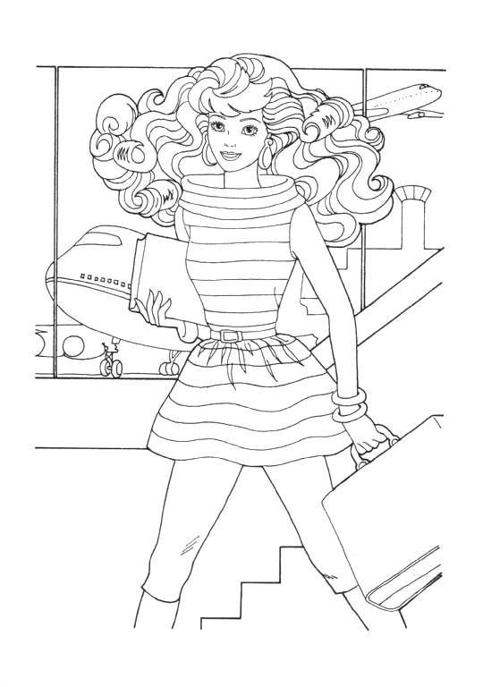 Kleurplaten Barbie Bewegende Afbeeldingen Gifs Animaties