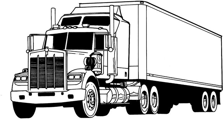 Kleurplaten Vrachtwagens Bewegende Afbeeldingen Gifs