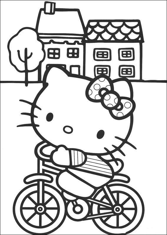 Kleurplaten Van Hello Kitty Zoeken.Kleurplaten Hello Kitty Bewegende Afbeeldingen Gifs